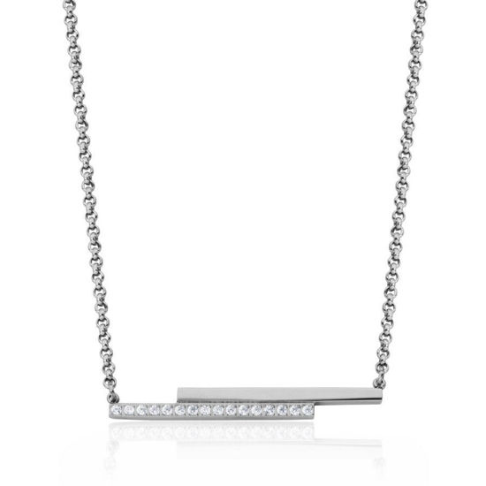 Image sur Collier barres en acier inoxydable de la Collection Steelx