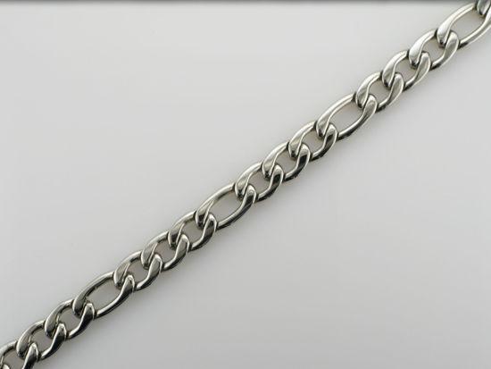 Image sur Bracelet Figaro en acier inoxydable de la Collection L'Aventurine
