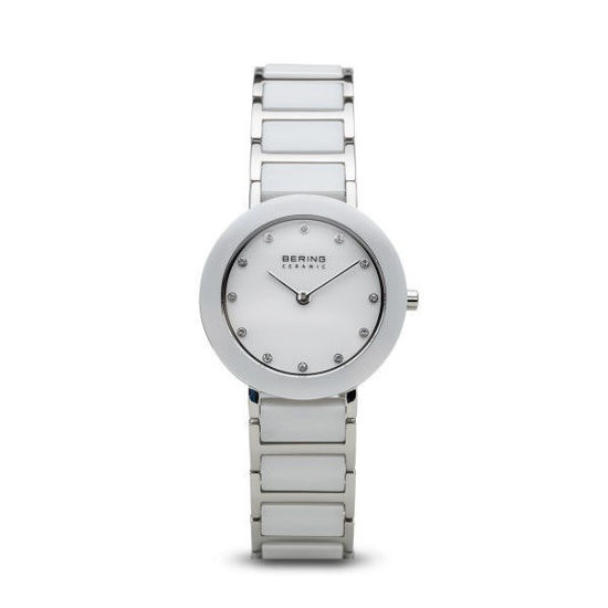 Image sur Montre blanche de la Collection Bering