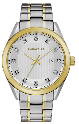Image de Montre acier et or de la Collection Caravelle