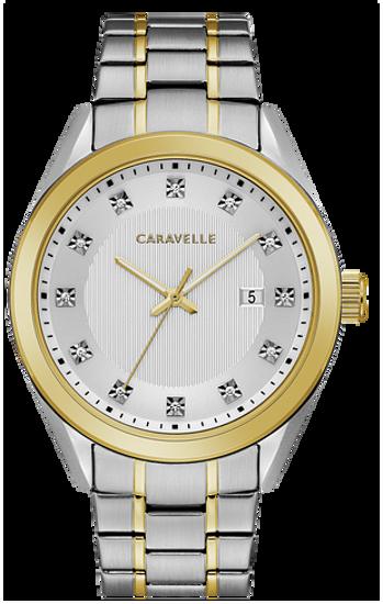 Image sur Montre acier et or de la Collection Caravelle