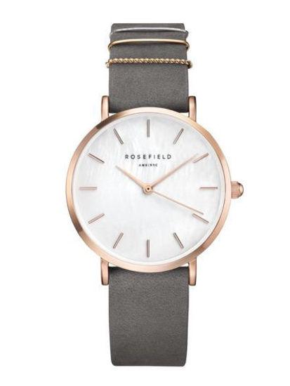 Image sur Montre avec bracelet gris de la Collection Rosefield