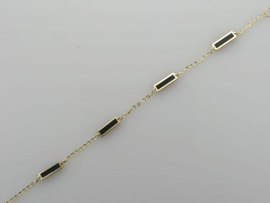 """Image sur Bracelet Rolo 7"""" en or jaune"""