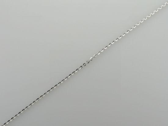 "Image sur Bracelet Rolo 7 1/2"" en or blanc"