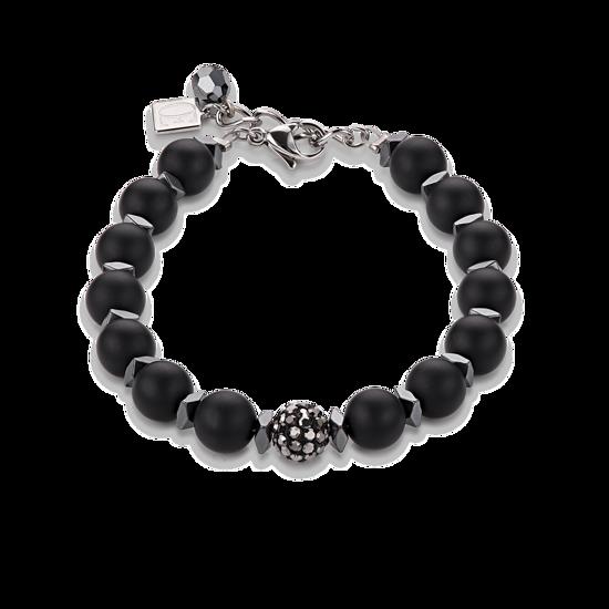 Image sur Bracelet noir de la Collection Cœur de lion