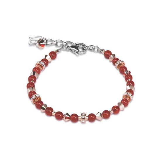 Image sur Bracelet orangé de la Collection Cœur de lion