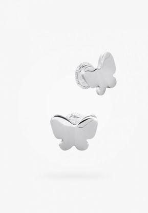 Image de Boucles d'oreilles papillon en argent 925 de la Collection Bfly