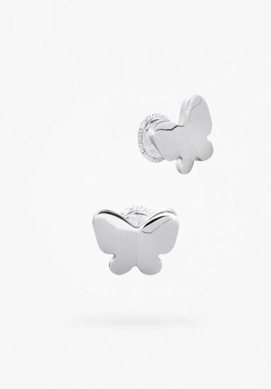 Image sur Boucles d'oreilles papillon en argent 925 de la Collection Bfly