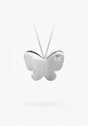 Image de Collier papillon en argent 925 de la Collection Bfly