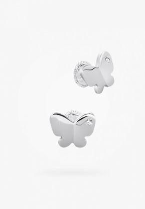Image de Boucles d'oreilles papillon en argent 925 .de la Collection Bfly
