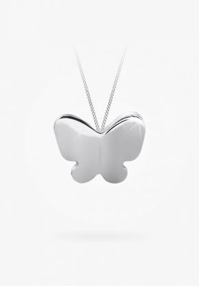Image de Collier papillon en argent 925 .de la Collection Bfly