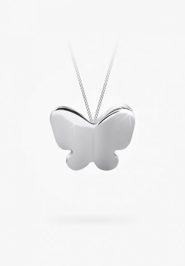 Image sur Collier papillon en argent 925 .de la Collection Bfly