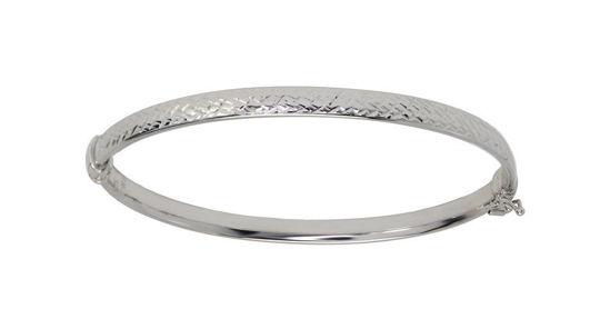 Image sur Bracelet rigide en or blanc