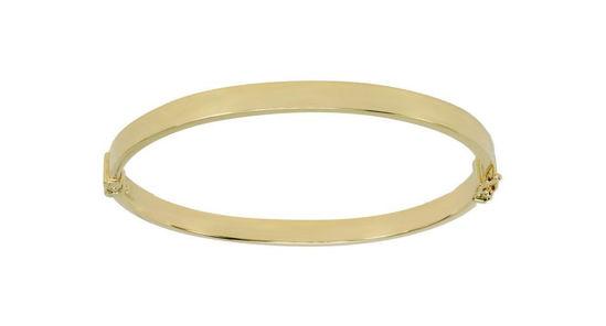 Image sur Bracelet rigide en or jaune