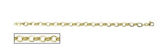 """Image sur Bracelet de Fantaisie 7 1/4"""" en or jaune"""