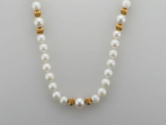 Image sur Collier de perles de culture 19''