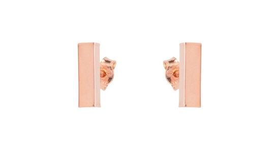 Image sur Boucles d'oreilles en or rose