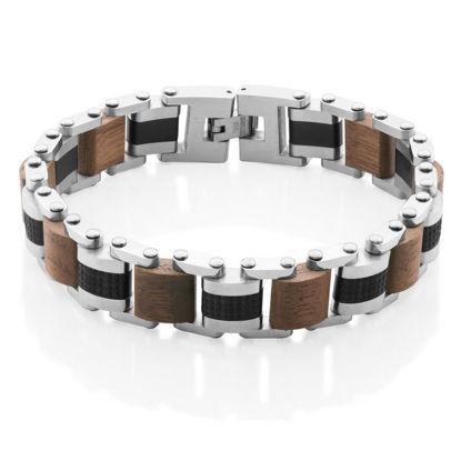 Image de Bracelet en acier inoxydable de la Collection Steelx